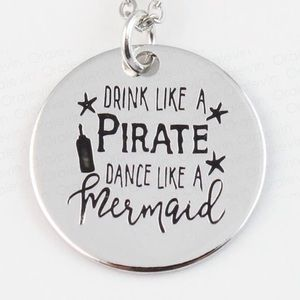 Jewelry - Drink Like A Pirate Necklace